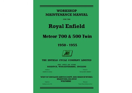 Royal Enfield 500 Twin workshop manual