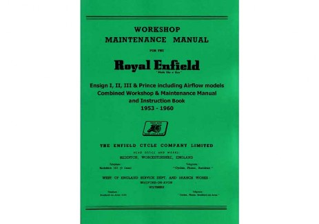 Royal Enfield Prince workshop manual