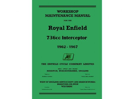 Royal Enfield Interceptor MKI and MKIA Manual