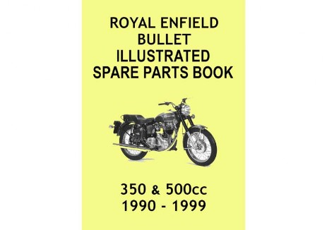 Royal Enfield Bullet 350 and 500cc Parts Book