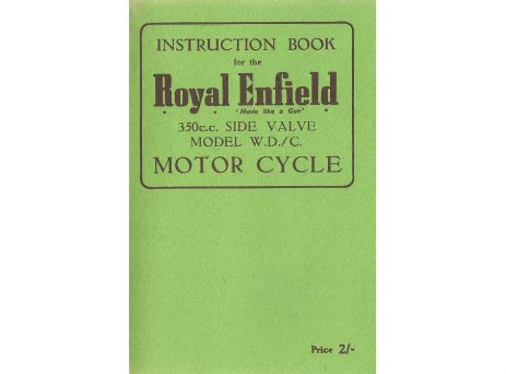 Royal Enfield Model WD/D handbook / manual