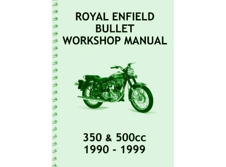 Enfield Bullet manual 1990 to 1999
