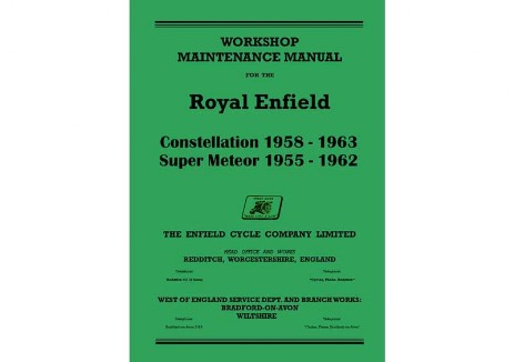 Royal Enfield Super Meteor workshop manual