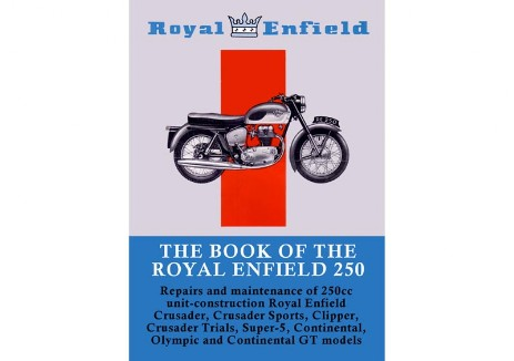 Manual for Royal Enfield Crusader, Clipper, Crusader Sports, Continental GT