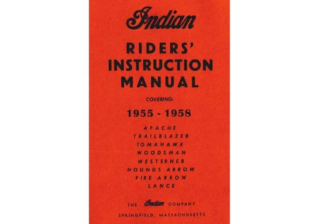 Royal Enfield Woodsman, Trailblazer, Apache, Tomohawk, Chief serveice manual