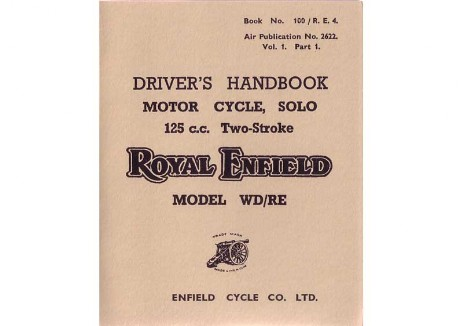 Royal Enfield Flying Flea handbook